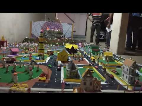 Diwali Fort # Celebrations in Maharashtra # This guy did wonderful job in designing this fort