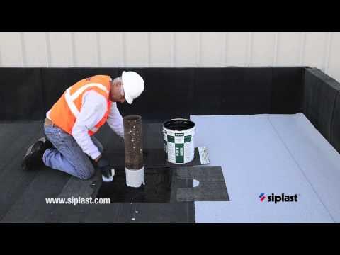 Siplast Parapro Flashing Application 5 Catalyze Parap
