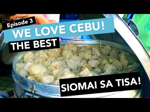 REVIEW: AMERICAN TRIES ALL AND CHOOSES THE BEST SIOMAI SA TISA (We Love Cebu! Episode 3)