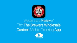 The Brewers Wholesale - Mobile App Preview - THE104W
