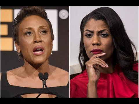 Robin Roberts disses Omarosa proving Blk Liberals have nothing but self hate