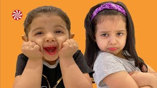أميرة غاضبة من ميادة بسبب الحلويات !!