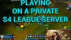 League of Legends Season 4 PRIVATE SERVER