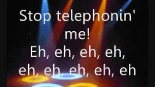 Telephone Lyrics - Lady Gaga Ft. Beyonce