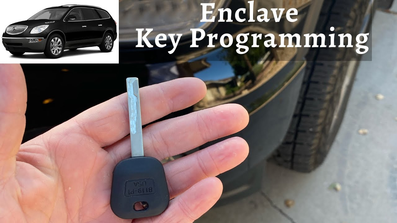 New Transponder Key Compatible With 2008-2010 Buick Enclave With Programming Instructions