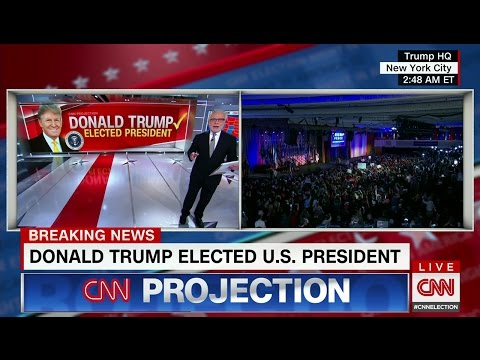 CNN Election Night Coverage 2016 - All CNN Projections & Key ...