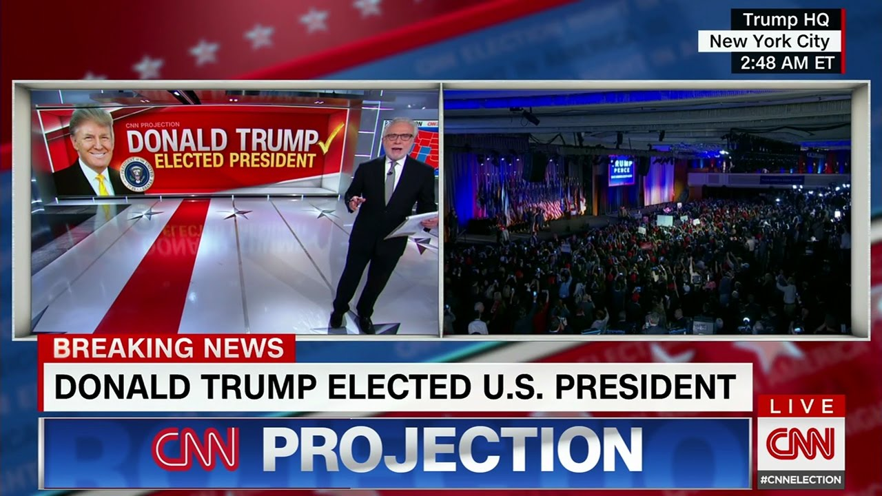 CNN Election Night Coverage 2016 - All CNN Projections ...