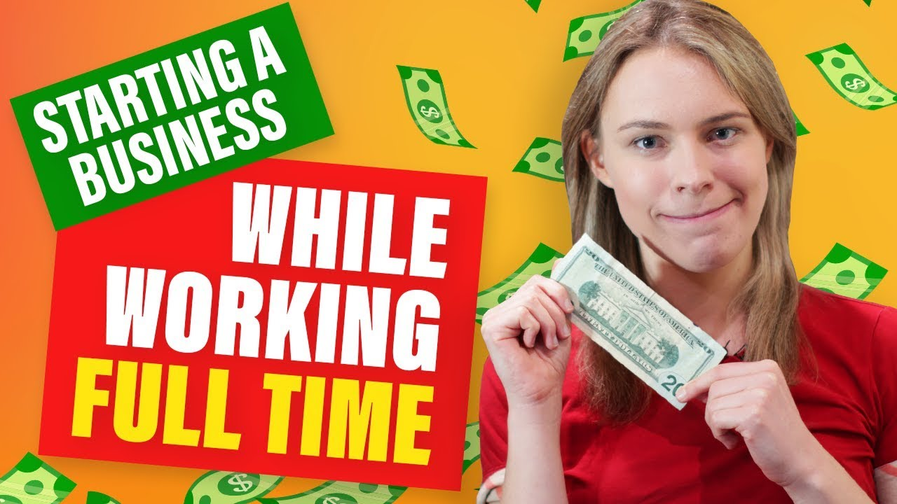 Download How To Start a Side Hustle While Working/Studying Full-Time! (Start a Business On The Side)