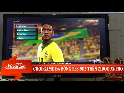 [Hieuhien.vn] Reviews chơi game PES 2016 giả lập PSP trên Android TV Box Octa Core Zidoo X6 PRO