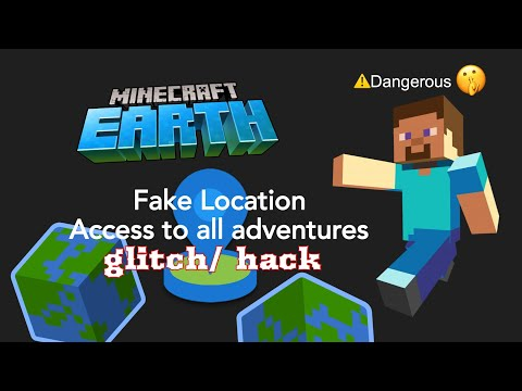 Go anywhere in Minecraft Earth without moving using a gps joystick | tutorial thumbnail