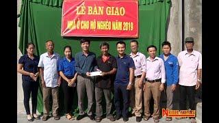 Bàn giao nhà cho hộ nghèo ở xã Xuân Hải