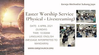Easter Worship Service 2021-04-04