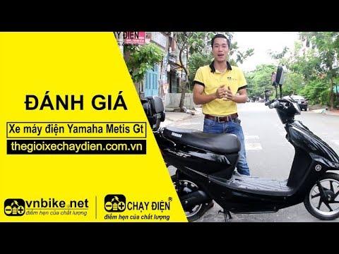 Đánh giá xe máy điện Yamaha Metis Gt