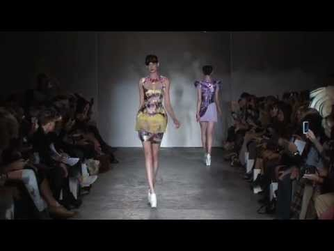 Belle Sauvage Spring Summer 2012 Official Catwalk Video