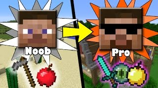 MORE Secret&Quick Ways to Transform from Noob to Pro in Minecraft