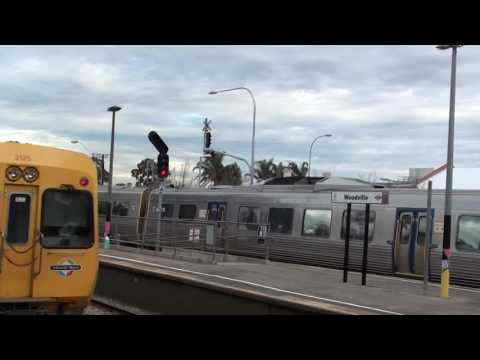 Bus & Rail Integration Seaton Park to Woodville Railway Stations Greater Adelaide Video Aug 2016