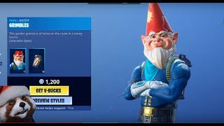 THE NEW GRIMBLES GARDEN SKIN | Fortnite Daily Shop