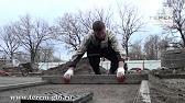 Покрытие из резиновой крошки - YouTube