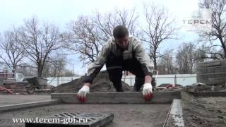видео Укладка уличной плитки на даче своими руками