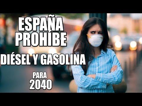 ¿Por qué quiere España prohibir los coches diesel y gasolina en 2040?
