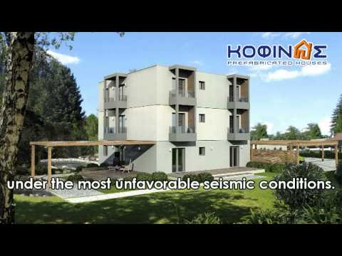 KOFINAS PREFABRICATED HOUSES GREECE – 3-STORY BUILDING TEST