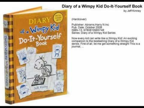 The tribute of diary of a wimpy kid do it yourself book youtube the tribute of diary of a wimpy kid do it yourself book solutioingenieria Image collections