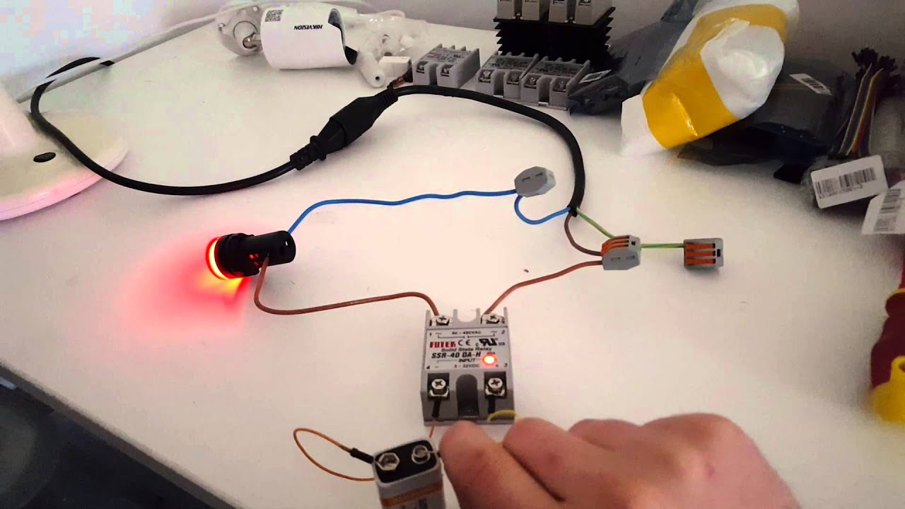 Solid State Relay With 220v LED. Confused Why LED Is Dim