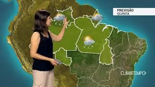 Previsão Norte – Chuva volumosa em Porto Velho (RO)