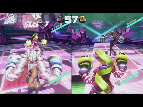 ARMS: Ribbon Ring Stage Music *short*- Pixel Effect