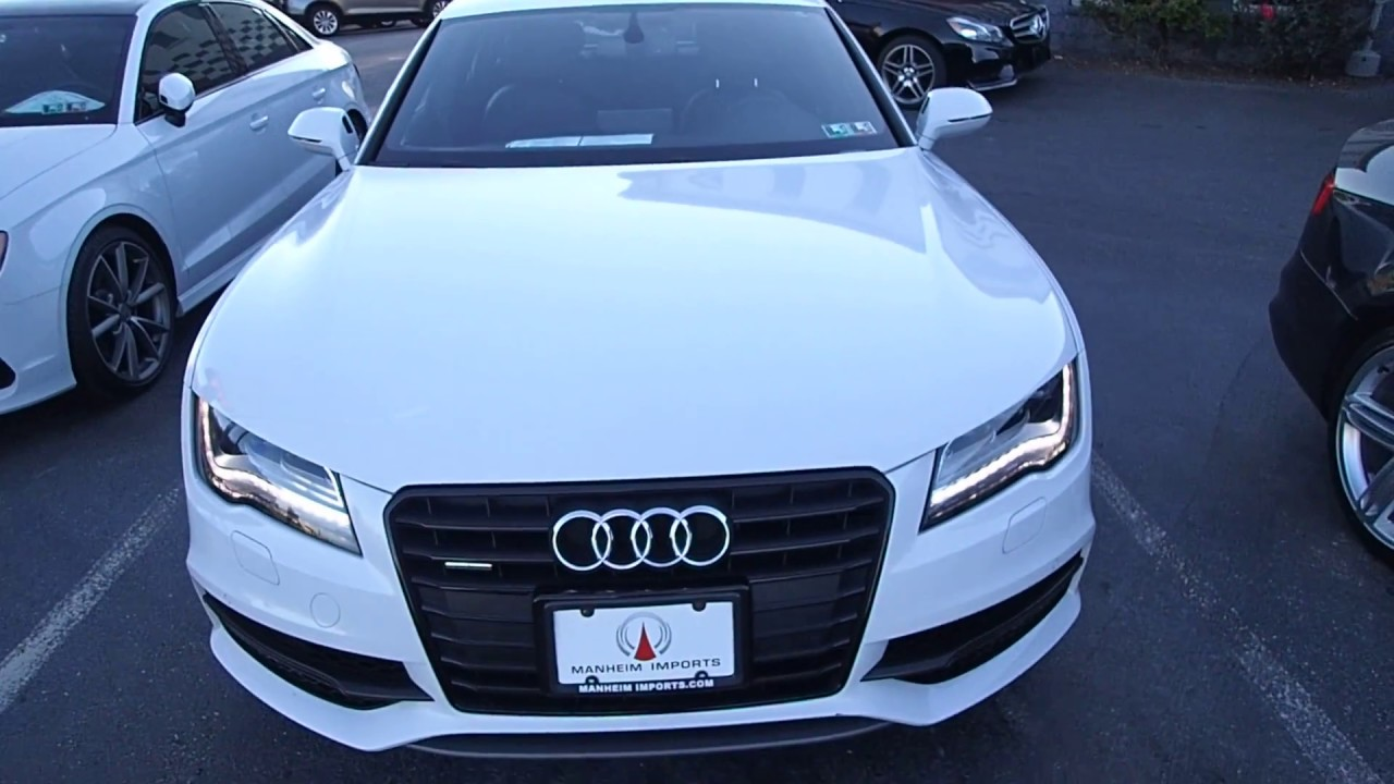 2014 Audi A7 Prestige Black Optic Package