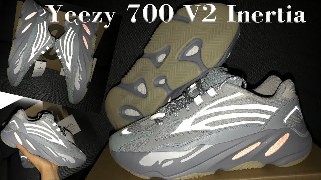Yeezy 700 V2 Inertia reflective review