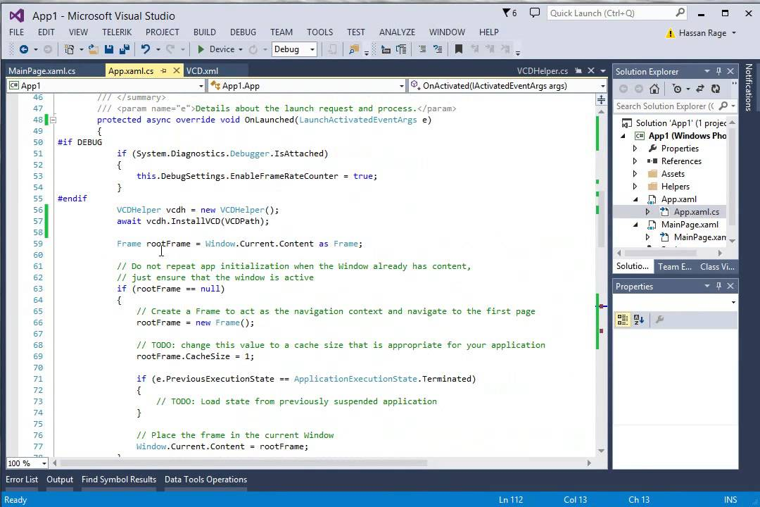 Cortana Windows Phone Speech API Tutorial