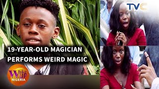 MUST WATCH! 19-Year-Old Magician, Babs Cardini Plays Wierd Magic Tricks On People