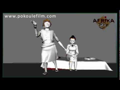 POKOU Princesse Ashanti - 1ere images du Making of