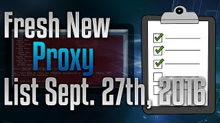 How To Get Fresh Proxy List