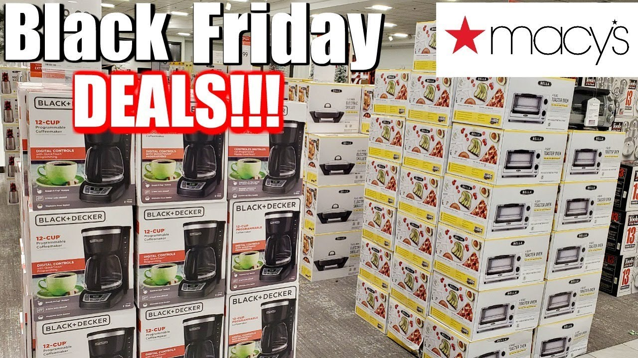 Macy's Black Friday & Thanksgiving Sale Hours & Deals 2019