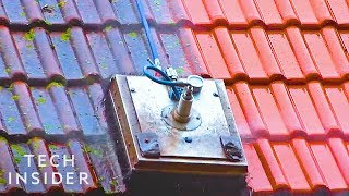Cleaning Roofs Is Easier With This Machine