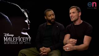 Size DOES Matter for Ed Skrein and Chiwetel Ejiofor