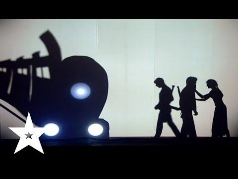 Трогательное выступление от театра теней Dreamway - Украна ма талант-6 - Третий прямой эфир