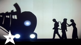 Трогательное выступление от театра теней