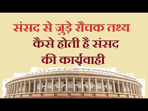 संसद से जुड़ी रौचक बातें | Important facts related to Parliament | India IQ