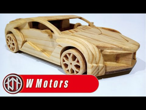 Fenyr Supersport – making wooden toy car