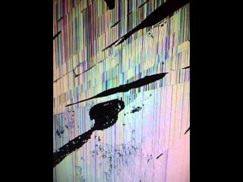 Cracked LCD Screen Prank