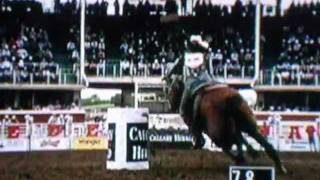 BARREL RACING ACCIDENT @ CALGARY STAMPEDE- Jody Sheffield