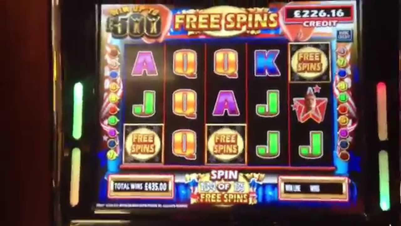 Rocky Fruit Machine 500 Jackpot Off Free Spins Youtube