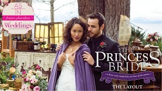 "Tahoe Wedding Inspiration: ""The Princess Bride"" The Layout-Styled Shoot in Real Weddings Magazine"