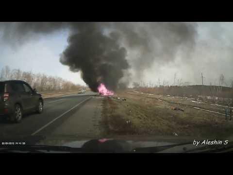 Возгорание автомобиля(Калининск)