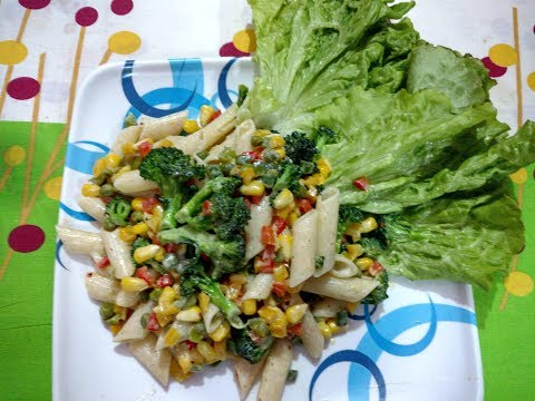 Healthy Pasta Salad | पास्ता सलाद रेसिपी | Cold Pasta Salad - Breakfast and Lunch