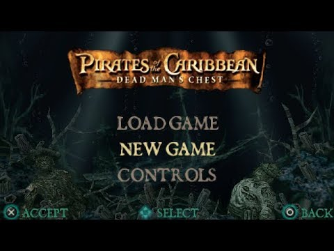 Pirates Of The Caribbean: Dead Man's Chest PSP Playthrough - Tedious Combat!