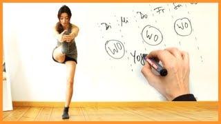 ♥ Trainingsplan ♥ Wann und wie oft Sport machen? Abnehmen, fitter werden, mehr Spaß haben :)